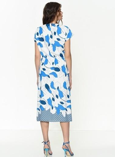 Si Design Elbise Mavi
